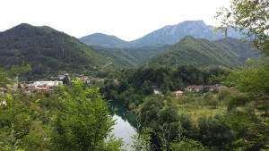 Bosnian Lake And Mountains