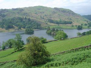 Lake District River Valley