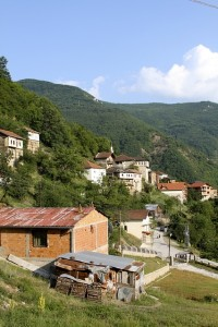 Macedonian Village Landscape