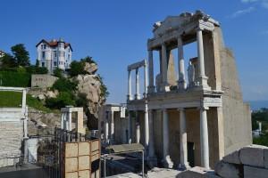 Roman Ruins in Plovdiv