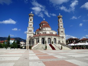 The Cathedral in Korce Albania