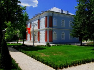 The Presidents Blue Palace in Cetinje