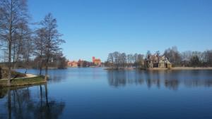 Trakai Castle Lake