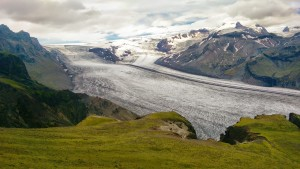 Vatnajokull glacier in Iceland
